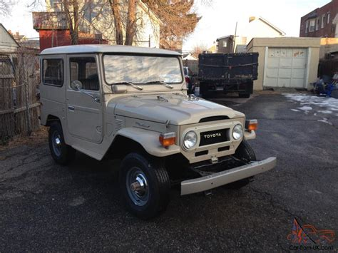original land cruiser all original unmolested 1976 toyota fj40 land cruiser