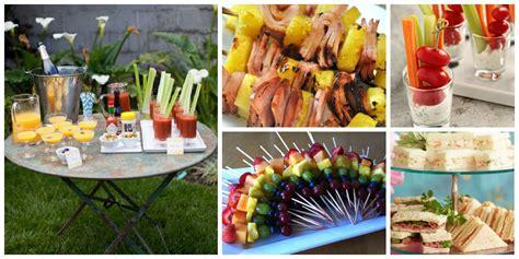 wedding shower finger foods ideas small town s bridal shower inspiration