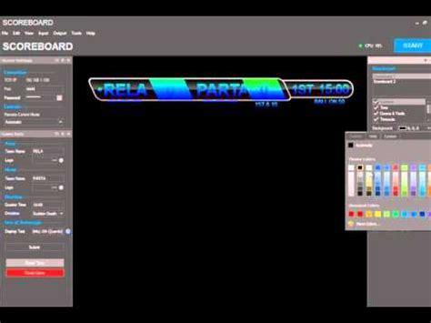 epl xball lurker paintball scoreboard software v2 0 preview doovi
