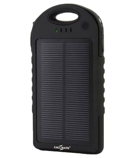 Power Bank Hame T5 5000 Mah callmate solar 5000 mah power bank with data cable black power banks at low prices