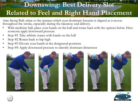 role of the right hand in the golf swing understanding your natural golf swing