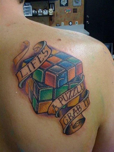 puzzle tattoo designs 25 smart puzzle designs