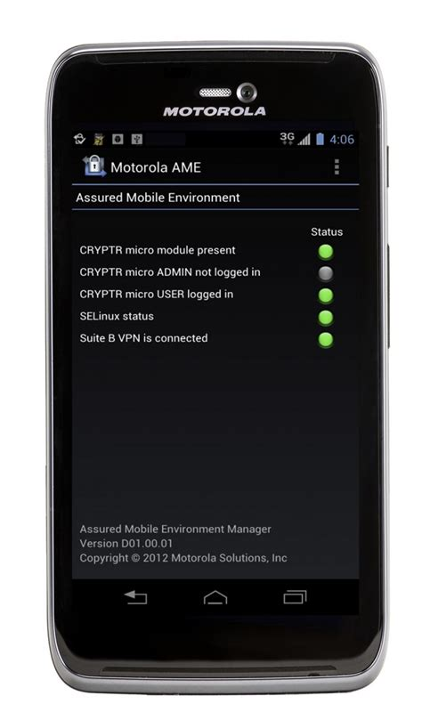 secure android motorola solutions launches android based ame 2000 with secure wireless communications android