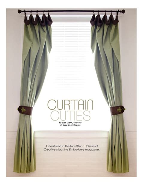 sewing patterns for drapes free embroidery design sewing pattern curtain cuties