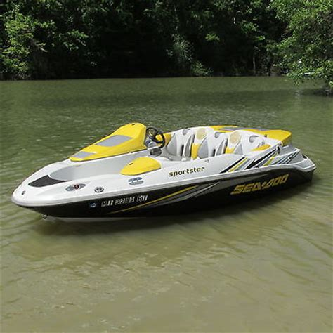 sea doo boat 500 hp 4 person seadoo jet boat boats for sale