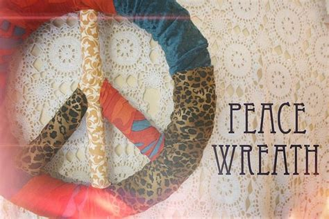 typography tutorial peace tutorial for a peace sign wreath have never seen this
