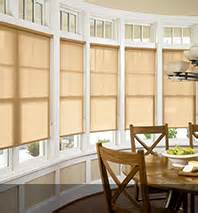 window treatments for a bow window bow window treatments roller shades amp more blindsgalore com