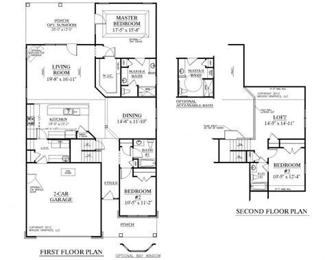 home design plans pdf sle house plans pdf bedroom open floor plan sq ft