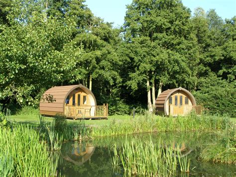luxury gling pods run cottage touring park