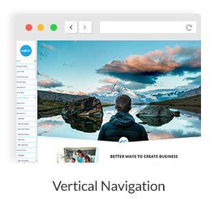 wordpress themes free vertical navigation mountcool one page responsive multipurpose wordpress