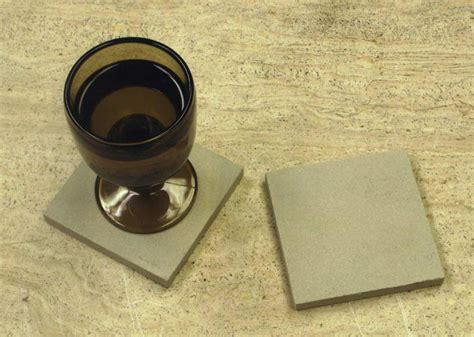 Beverage Coasters by Absorbent Stone Coasters