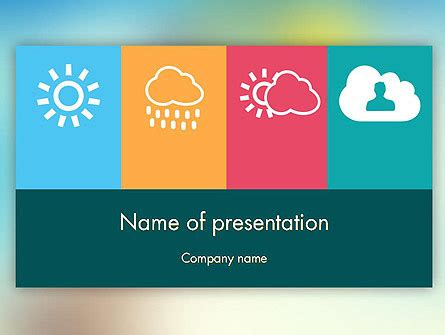 ppt templates free download weather weather forecast shapes collection for powerpoint