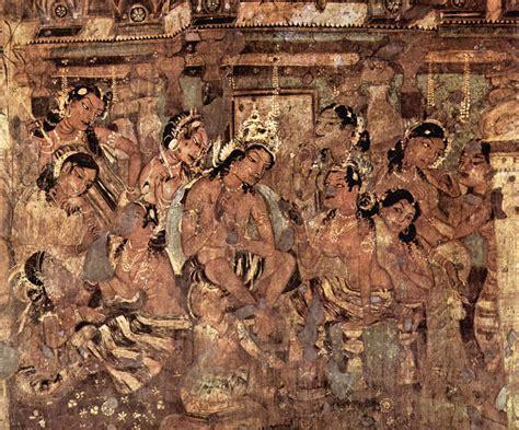 ajanta caves rock cut buddhist temples wondermondo