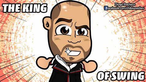 king of swing cesaro cesaro king of swing wwe chibi wallpaper by kapaeme on