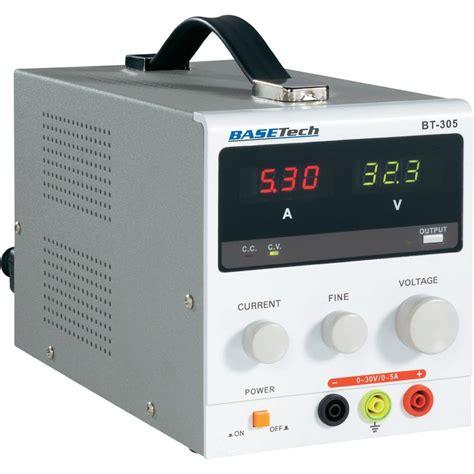bench power supply uk bench psu adjustable voltage basetech bt 305 0 30 vdc
