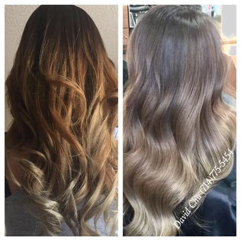 hair color toner color correction ombr 233 wrong at another salon prior