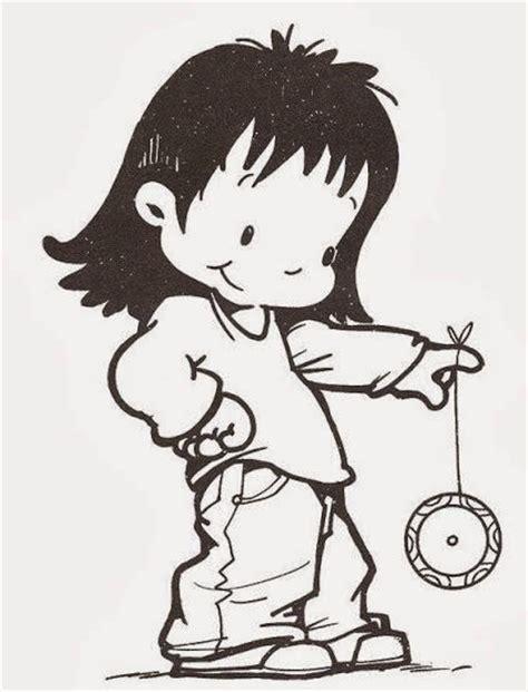 dibujos de niños jugando juegos tradicionales dibujos para colorear maestra de infantil y primaria