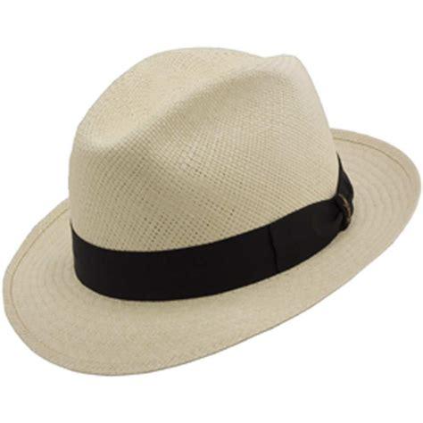 Hats To You by Borsalino Amalfi Panama Straw Fedora Hat