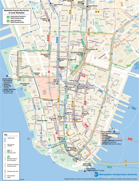 manhattan city map manhattan city travel map road map of manhattan city