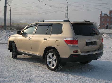 2010 Toyota Highlander 2010 Toyota Highlander For Sale 3 5 Gasoline Automatic