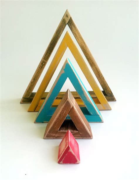 Triangle Blocks triangle shelves blocks wall on storenvy