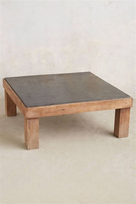 slate inset coffee table furnishings