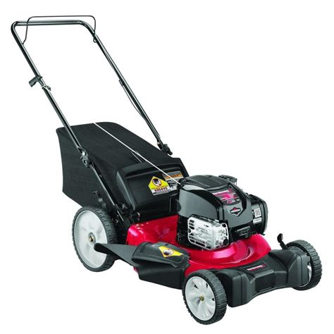 yard machines 21 in 163cc ohv briggs stratton gas walk