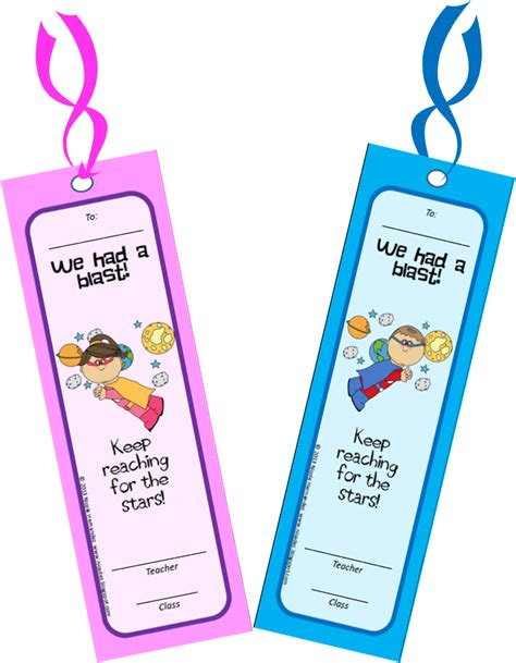 printable school bookmarks a teacher s idea free printable bookmarks end of school