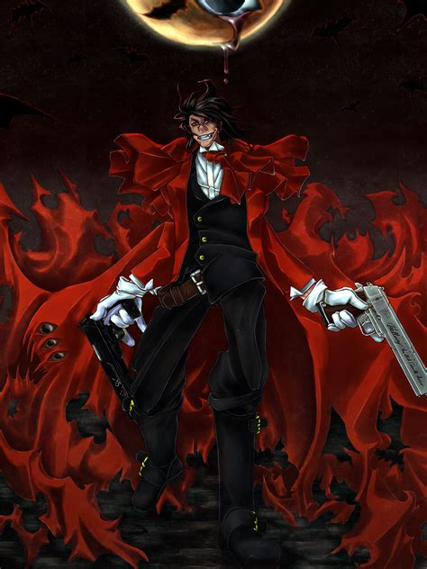 alucard iphone wallpaper download hellsing alucard wallpaper 1200x1600 wallpoper