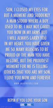 Love Quotes For Your Son by Telling Others That You Are My So More Than Sayings
