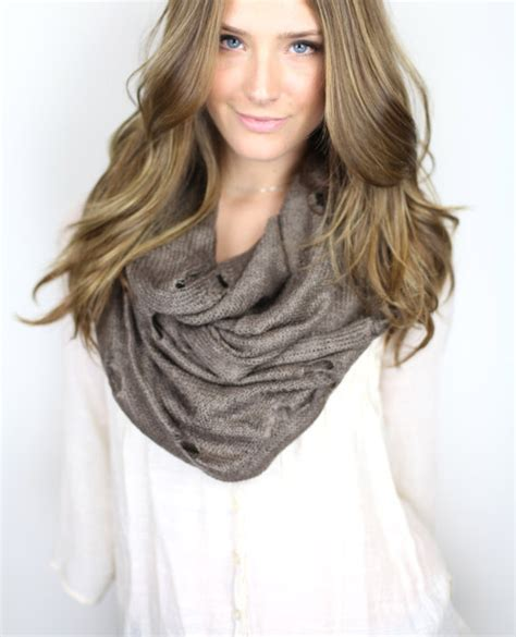 where can i buy an infinity scarf brown chunky infinity scarf vintage from gertiebaxter on etsy