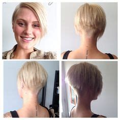 shaved hairstyles for women over 60 1000 images about bob haircut on pinterest shaved nape