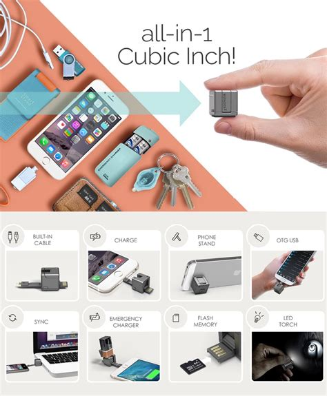 WonderCube Offers 8 Mobile Essential Smartphone Accessories (video)
