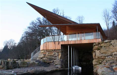 building a house boat loch tay boat house highlands property scottish