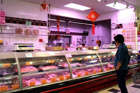 supermarket meat section navigating a chinese grocery store the woks of life