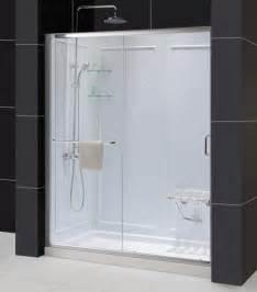 infinity shower doors dreamline showers infinity z sliding shower door