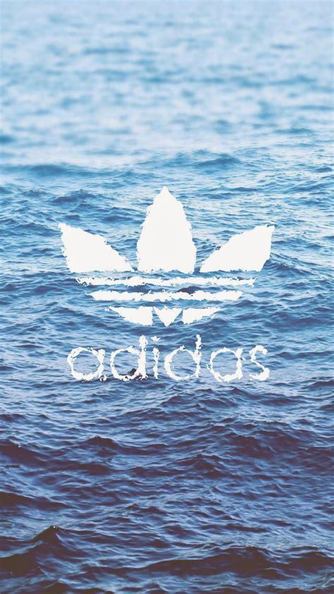 Wallpaper HD iPhone Adidas logo on water   Free Download