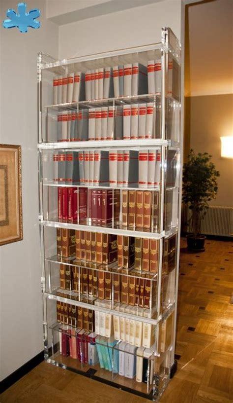 libreria plexiglass foto libreria in plexiglas trasparente di eldorado