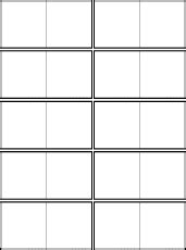 blank dominoes template a printable game cards 1
