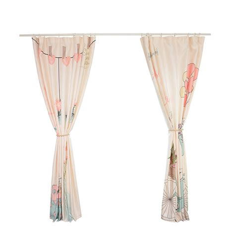 Pink And Beige Curtains Decor Beautiful Beige And Pink Thermal Curtains And Panels