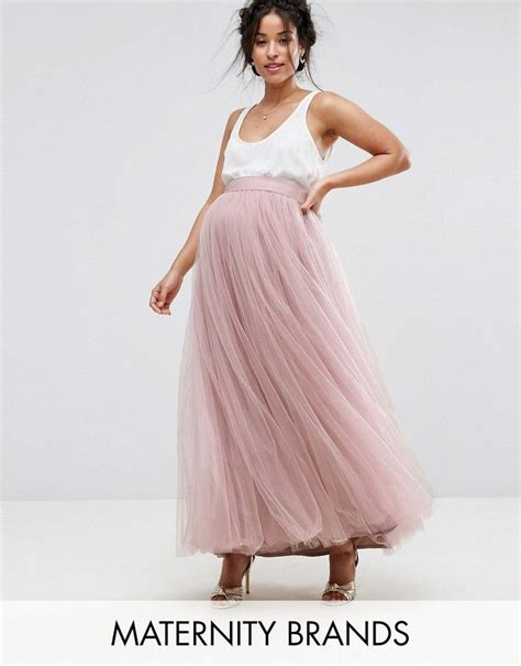 maternity maxi tulle skirt pink maxi skirt for pregnancy beautiful