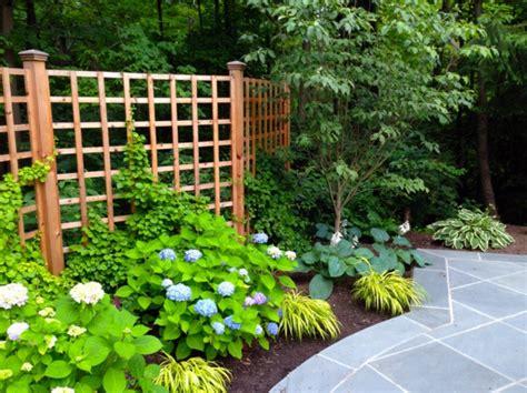 Panneau Décoratif Jardin 3120 by La D 233 Coration Ext 233 Rieure Avec Un Treillis De Jardin