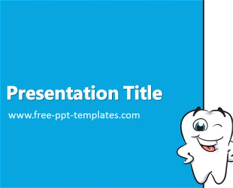 free dental powerpoint templates dentist ppt template free powerpoint templates