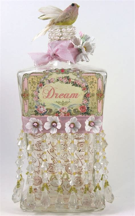 beautiful chic bottle crafty goodness pinterest