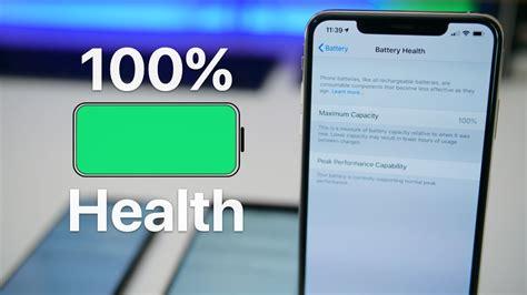 100 percent iphone battery health how i do it