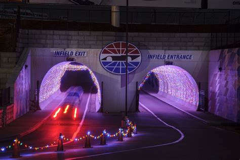 gift of lights open at new hshire motor speedway