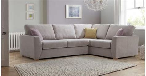 l shaped corner sofa dfs gracie left facing 2 seater corner sofa sherbet dfs