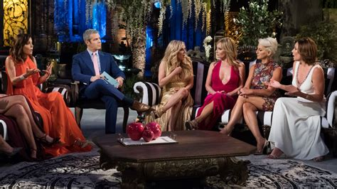 luann de lesseps talks filming rhony reunion all things rhony reunion first look andy cohen and cast confront