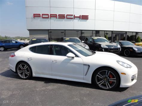 White Porsche Panamera Turbo by Porsche Panamera Turbo White 2014