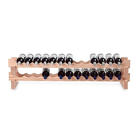 wine rack bed bath and beyond wine enthusiast 26 bottle pine wine rack bed bath beyond